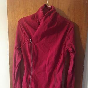 Red Lululemon jacket size 6